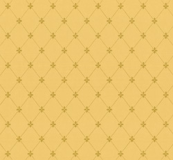Wallpaper - Filipsborg gul/guld - old style - vintage style - oldschool