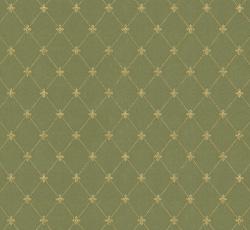 Wallpaper - Filipsborg grön/guld