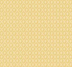 Wallpaper - Mölletorp vit/gul