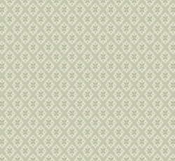 Wallpaper - Mölletorp grön/vit