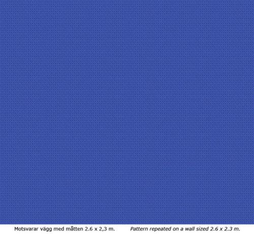 Wallpaper - Mölletorp u-blå/blå