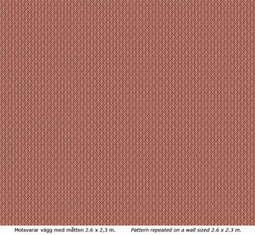 Wallpaper - Liten lilja kvist/röd