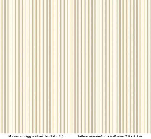 Wallpaper - Klassisk rand II kvist/gul