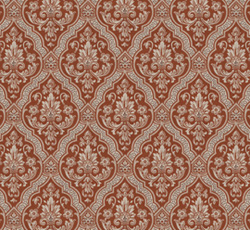 Wallpaper - Rydeholm kvist/röd  - old fashioned - oldschool - retro
