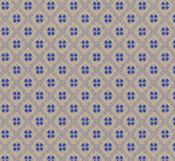 Lim & Handtryck - Gammaldags Tapet - Erken kvist/blå