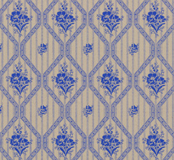 Wallpaper - Blåklint twig/blue