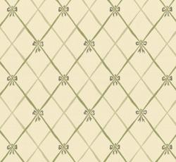 Wallpaper - Edholma gård white/green