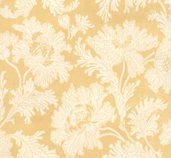 Wallpaper - Hällestrand vit/gul