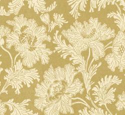Wallpaper - Hällestrand guld/vit