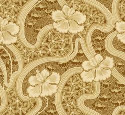 Wallpaper - Tjolöholm brown/gold
