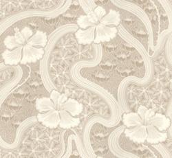 Wallpaper - Tjolöholm beige/white