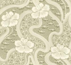 Wallpaper - Tjolöholm green/white