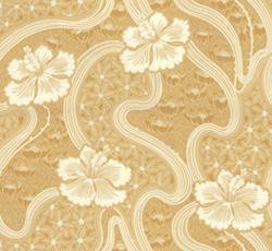 Wallpaper - Tjolöholm yellow/white
