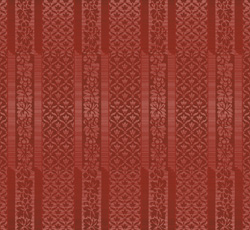Wallpaper - Hovdala slott red/red
