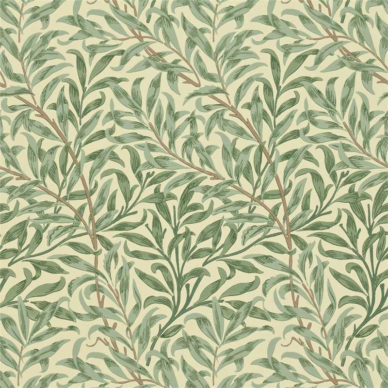 William Morris & Co. Wallpaper - Willow Boughs Green