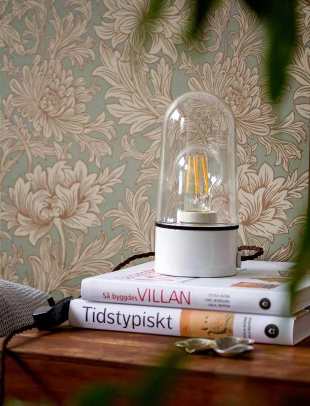 DIY - build your own table lamp with textile cord