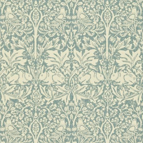 William Morris & Co. Wallpaper - Brer Rabbit Slate/Vellum