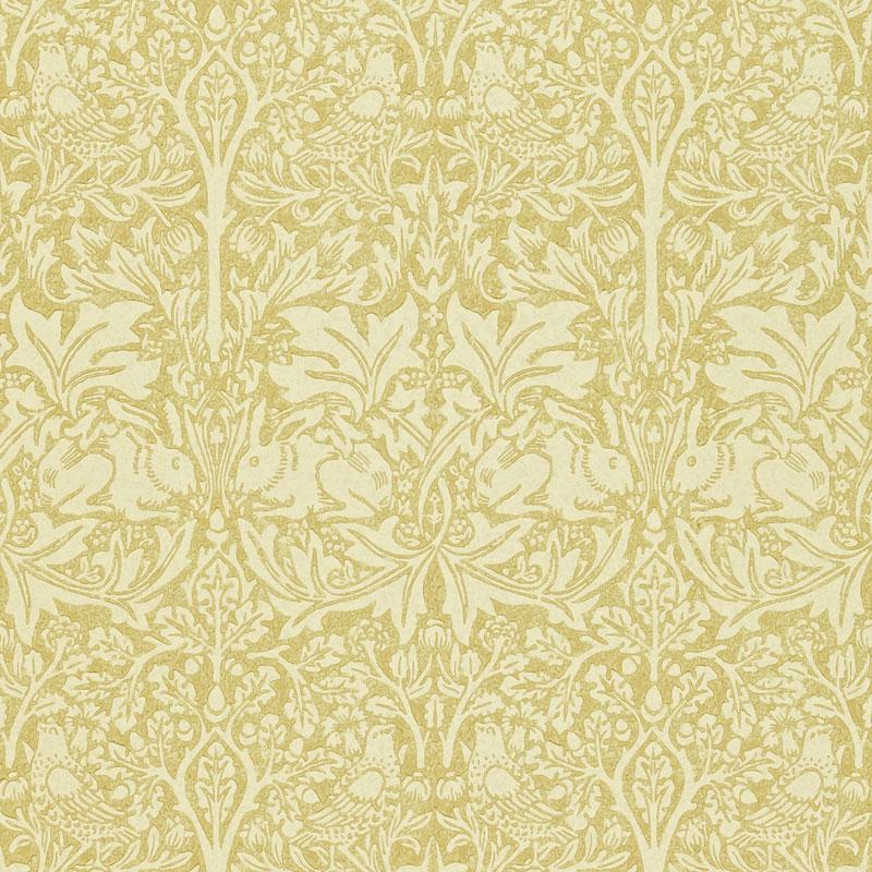 William Morris & Co. Wallpaper - Brer Rabbit Manilla Ivory
