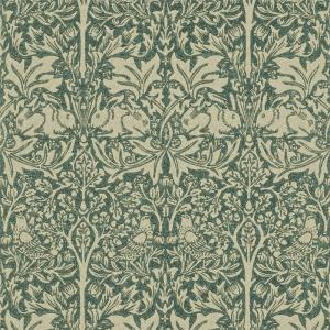 William Morris & Co. Wallpaper - Brer Rabbit Forest Manilla