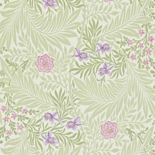 William Morris & Co. Tapet - Larkspur Olive/Lilac