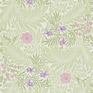 William Morris & Co. Tapet - Larkspur Olive/Lilac
