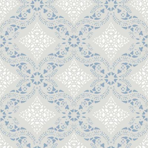 Duro Tapet - Dahlströmskagården - Grey/Blue