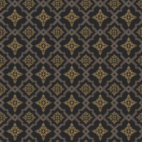 Duro Tapet - Börsjö - Gold/Black