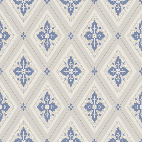 Duro Tapet - Astrid - Beige/Blue