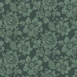 Duro Tapet - Högstatorpet - Grön - sekelskiftesstil - gammaldags inredning - klassisk stil - retro