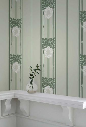 Duro Wallpaper - Ramsjö - Green