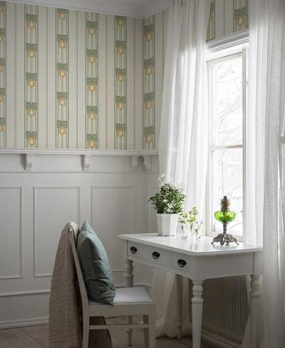 Duro Wallpaper - Ramsjö - White