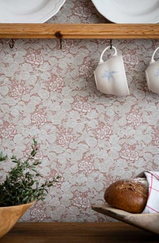 Duro Wallpaper - Gysinge - Red