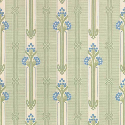 Duro Wallpaper - Nergården - Blue