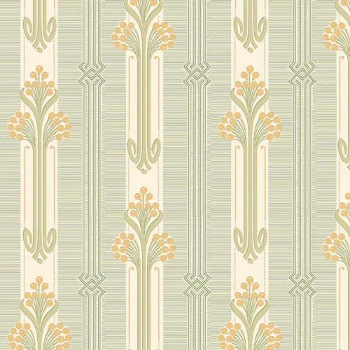 Duro Wallpaper - Nergården - Yellow
