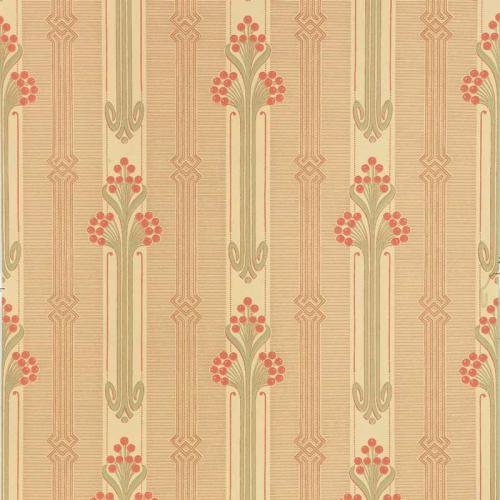 Duro Wallpaper - Nergården - Red