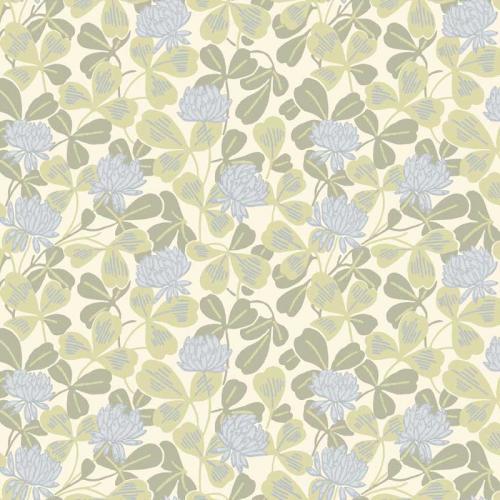 Duro Wallpaper - Klöver - Blue