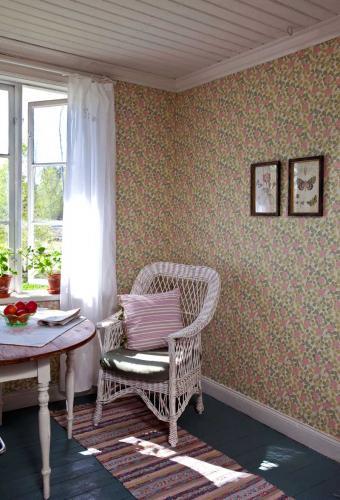 Duro Wallpaper - Klöver - Pink