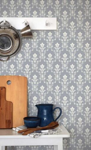 Duro Wallpaper - Hudiksvalls teater - Blue