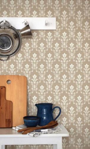 Duro Wallpaper - Hudiksvalls teater - Beige