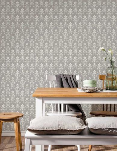 Duro Wallpaper - Hudiksvalls teater - Grey