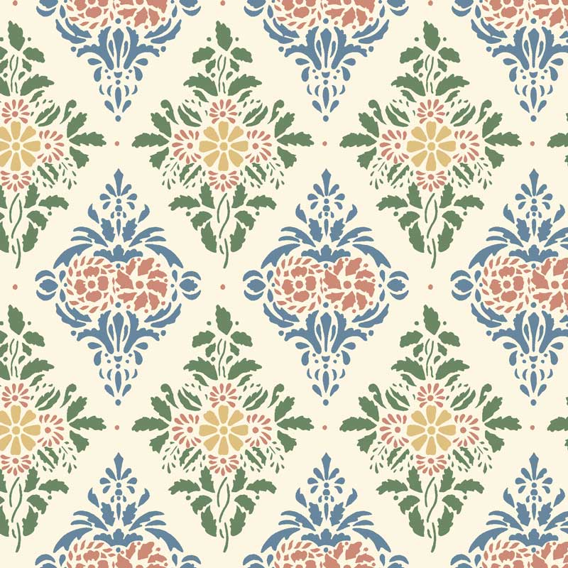 Duro Tapet - Gästgivars - Multi - sekelskiftesstil - gammaldags inredning - klassisk stil - retro