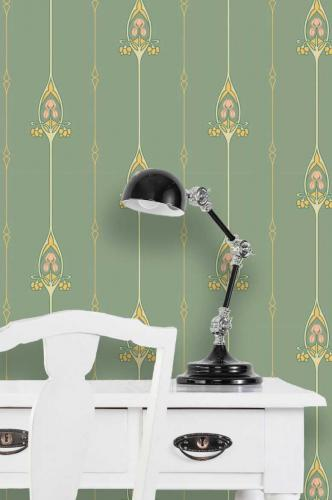 Duro Wallpaper - Gamla Grand - Green