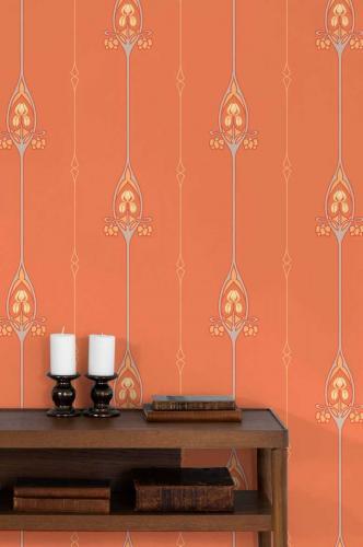 Duro Wallpaper - Gamla Grand - Red