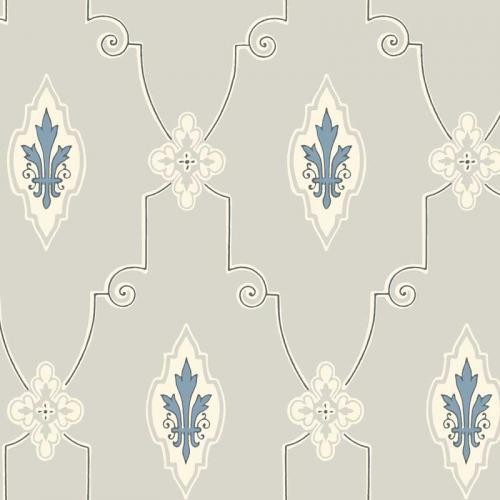 Duro Tapet - Liljesal Grey/Blue