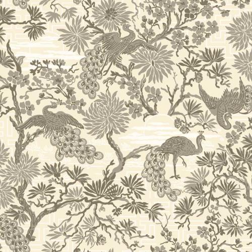 Duro Wallpaper - Brunnsgatan – Grey