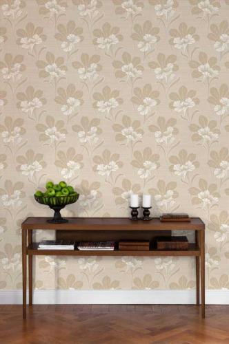Duro Wallpaper - Vilhelmina - Beige