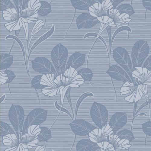 Duro Wallpaper - Vilhelmina - Blue