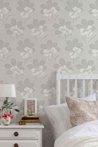 Duro Wallpaper - Vilhelmina - Grey