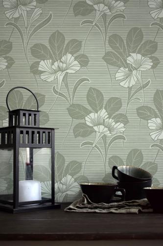 Duro Wallpaper - Vilhelmina - Green
