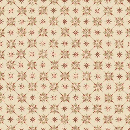 Duro Wallpaper - Karolina - Beige/Red